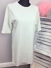 ASOS Stripe Tunic Dress Mint / Cream (AS-36/12)
