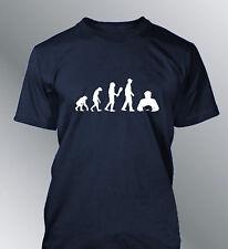 Tee shirt personnalise homme evolution Poker S M L XL XXL humour human sport