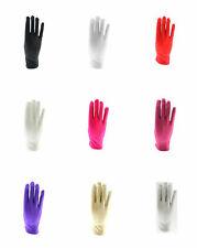 Zac's Alter Ego® Short Satin Gloves Fancy Dress Formal