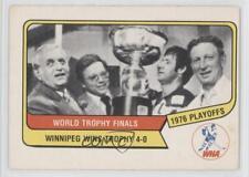 1976-77 O-Pee-Chee WHA #132 Winnipeg Jets Team (WHA) Hockey Card