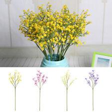 Branche Gypsophile Artificielle Fleur Faux Soie Plante Décor Mariage Maison Mode