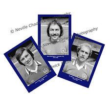 """Leicester City , Players Portrait Portraits, 7""""x 5"""" prints 1979-80"""