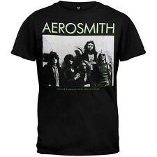 Aerosmith-América mayor oficial-negro para hombre Camiseta de importación