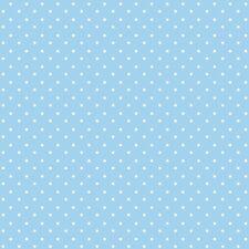 Cotone Classici Blu Pallido A Punto Piccolo 100% Tessuto Di Vivaio Patchwork Se