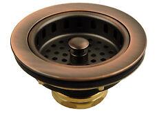 Kitchen Sink Basket Strainer - Antique Copper -52073