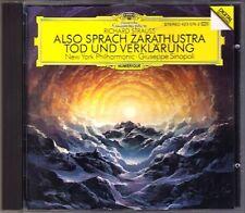 SINOPOLI: Strauss donc parlait Zoroastre Mort et transfiguration CD Giuseppe Richard