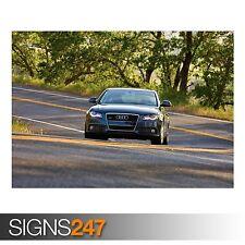 AUDI A4 3.2 QUATTRO SEDAN US (AC640) CAR POSTER - Poster Print Art A0 A1 A2 A3