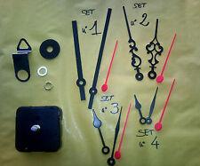 N°15 Meccanismo orologio ingranaggio Silenzioso SENZA TICTAC parete muro