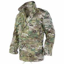 Mil-Tec Homme Veste d'hiver Blouson Militaire M65 Jacket Multitarn Camo S – 3XL