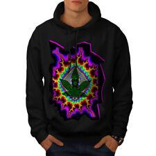 Rasta Weed Psychedelic Men Hoodie NEW | Wellcoda