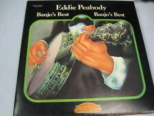 EDDIE PEABODY BANJO'S BEST GATEFOLD 2 LP RECORD ALBUM