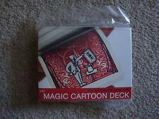 MAGIC CARTOON DECK ORIGINAL BICYCLE VERSION CLOSE UP CARD TRICK GAFF GIMMICK