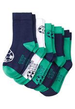 Schiesser Jungen -  Fußball Socken / Söckchen im 4 Paar Sparset Blau Grün