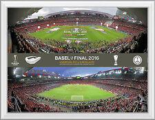 Europa League Final 2016 Sevilla v Liverpool Official Framed UEFA Photo Range