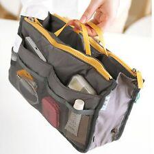 Women Lady Travel Insert Handbag Organiser Purse Large Liner Comestic Organizer