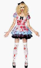 Undead Alice Leg Avenue Halloween Zombie Women Costume 83885 all size
