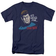 Star Trek TV Series Dr. McCoy He's Dead Jim Adult T-Shirt Tee