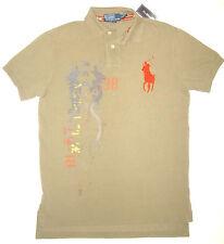 RALPH LAUREN CHINESE Graphic BIG POLO Men's Shirt TEAL Horse ASIAN Dragon L M S