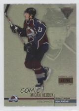 2001-02 Pacific Private Stock Titanium Premiere Date 35 Milan Hejduk Hockey Card