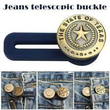 Adjustable 10pcs Jeans Retractable Button Detachable Extended Button H3V4