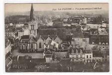 Panorama La Fleche Cote Sud France postcard