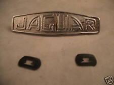 JAGUAR XK120 XK140 XK150 NEW CHROME HUB CAP MEDALLIONS (FREE UK POST)