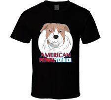 American Pitbull Terrier Mens Black T Shirt