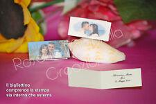 Bigliettini confetti nozze matrimonio stock In lotti