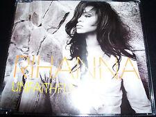 Rihanna Unfaithful Australian Enhanced CD Single – Like New