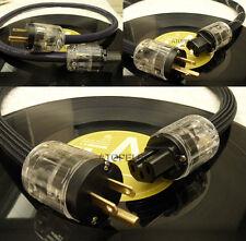 0.5M~3M Hi-End Hi-Fi FURUKAWA Audio Power Cable Cord Schuko US IEC Plug