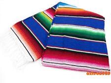 "Mexican XL Sarape Serape Blanket 80""x60"""