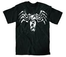 Venom Logo Paint Black T-Shirt
