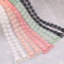 Lady Lace Floral Bra Straps Crochet Adjustable Detachable Party Hollow Out Clasp