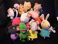 w-f-l Peppa Pig World Series George - Pig etc. 15 cm large selection
