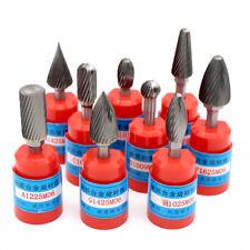 6-16mm Tungsten Carbide Rotary Burr 1/4'' Shank Milling Cutter Drill Die Grinder