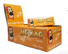 Zig Zag Liquorice Slim Cigaratte Rolling Paper - Genuine - 1 5 10 25 50 Booklets