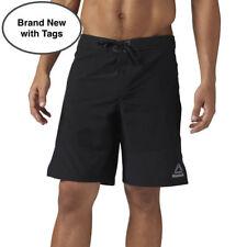 Reebok Men's Epic Short - Black - Sizes:  32, 34 & 36 NWT $60 Reg Price