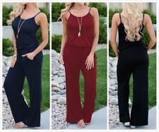 AU SELLER Casual Cotton Overalls Jumpsuit Hippie Romper Playsuits Pants ju011