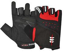 Half Finger Gym Exercise Workout Bodybuilding Wheelchair Fitness Vintage Gloves