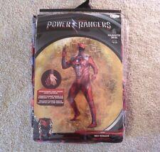 Saban's Red Power Ranger Bodysuit Cosplay Costume adult men's sizes M / XL / 2XL