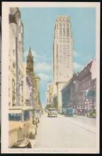 TORONTO CANADA King Street East Vintage Cars Postcard