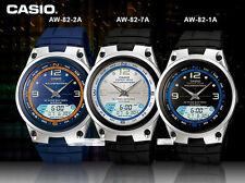 Casio Orologio Analogico/Digitale Fasi Lunari Fishing TIMER aw82 Scelta di 3 venditore di UK