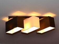 Lámpara Luz de techo 3 FOCOS GRAN DISEÑO Merano b3d Nuevo y caja original