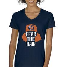 "V-NECK Gerrit Cole Houston Astros ""Fear The Hair""  Ladies T-shirt"