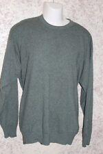 Brummell 100% Cashmere Green Crewneck Sweater XXL 2XL
