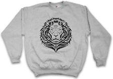 TRIBAL LION PULLOVER Kelten keltisch Religion Symbol Culture Tattoo Art Löwe