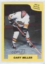 1989-90 7th Inning Sketch OHL #160 Gary Miller North Bay Centennials (OHL) Card
