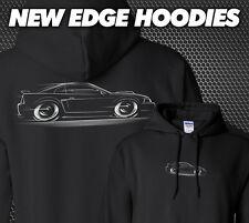 New Edge Mustang Hoodie GT COBRA Ford 1999 2000 2001 2002 2003 2004