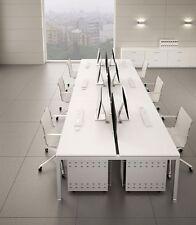 Schreibtisch für 6 Personen GATE Team-Arbeitsplatz Hochwertige Büroeinrichtung