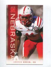 2013 Nebraska Cornhuskers Football Pocket Schedule Adidas cards -> You Pick 'em